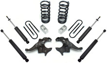 "1982-2004 GMC Sonoma 2wd V6 3/4"" Lowering Kit - MaxTrac KS330134"