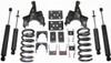 "1988-1998 Chevy Silverado 1500 2wd 3/5"" Lowering Kit - MaxTrac KS330535"