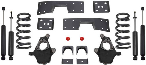 "1999-2006 Chevy Silverado 1500 2wd 3/5"" Lowering Kit - MaxTrac KS330935"