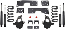 "1999-2006 GMC Sierra 1500 2wd 3/5"" Lowering Kit - MaxTrac KS330935"