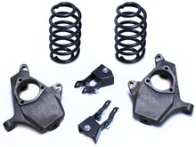 "2000-2006 GMC Yukon 2wd/4wd 2/3"" Lowering Kit - MaxTrac KS331023"
