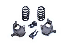 """2007-2014 Chevy Suburban 2wd/4wd 2/3"""" or 2/4"""" Lowering Kit - MaxTrac KS331223"""