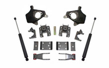 "2007-2013 Chevy Silverado 2wd/4wd 2/4"" Lowering Kit - MaxTrac KS331324"