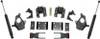 "2014-2016 Chevy Silverado 1500 2wd/4wd (1pc Drive Shaft) 2/4"" Lowering Kit - MaxTrac KS331524T"