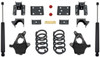 """2014-2016 GMC Sierra 1500 2wd/4wd (1pc Drive Shaft) 3/5"""" Lowering Kit - MaxTrac KS331535"""