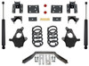 "2014-2016 Chevy Silverado 1500 2wd/4wd (2pc Drive Shaft) 3/5"" Lowering Kit - MaxTrac KS331535LB"