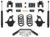"""2014-2016 GMC Sierra 1500 2wd/4wd (2pc Drive Shaft) 3/5"""" Lowering Kit - MaxTrac KS331535LB"""
