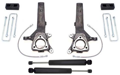 """2004-2020 Nissan Titan 2wd 4"""" Lift Kit W/ Shocks - MaxTrac K885342"""