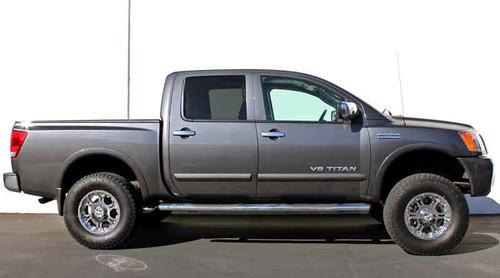 """2004-2020 Nissan Titan 2wd 6.5"""" Lift Kit W/ Shocks - MaxTrac K885364"""
