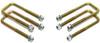 """2005-2020 Toyota Tacoma (6 Lug) 2wd/4wd U-Bolts For 3"""" & 4"""" Lift Blocks - MaxTrac 910104"""