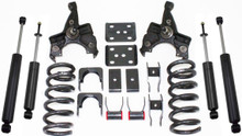 "1988-1998 GMC Sierra 1500 2wd 3/5"" Lowering Kit - MaxTrac KS330535"