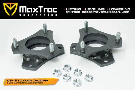 "2005-2020 Toyota Tacoma 2wd (5 Lug) 2.5"" Lift Strut Spacers - MaxTrac 836225"