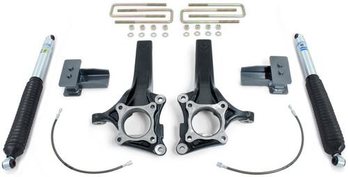 """2015-2021 Ford F150 2wd MaxPro 4.5"""" Front 3"""" Rear Lift Kit W/ Bilstein Shocks - MaxTrac K883243B"""
