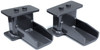 "2009-2020 Ford F-150 2wd Rear 4"" Lift Blocks - MaxTrac 813140"