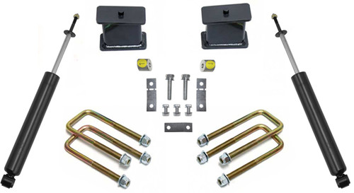 "2007-2021 Toyota Tundra 2WD 2.5"" Front/ 4"" Rear Lift Kit W/ MaxTrac Shcoks - MaxTrac 906740"