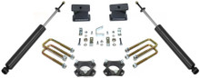 "2005-2020 Toyota Tacoma 2wd (6 lug) 4"" Rear Lift Kit W/ Shocks - MaxTrac 906840"