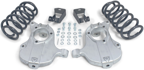 """2015-2020 Cadillac Escalade 2wd (With Autoride) 2/4"""" Lowering Kit - MaxTrac KS331624A"""
