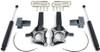 """2009-2014 Ford F150 2wd (W/ Factory Lift Blocks) 4"""" Front 2"""" Rear Lift Kit W/ MaxTrac Shocks - MaxTrac K883144"""