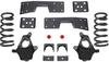 """1999-2006 GMC Sierra 1500 2wd 3/5"""" Lowering Kit W/ No Shocks - MaxTrac KS330935-NS"""