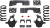 "1999-2006 Chevy Silverado 1500 2wd 3/5"" Lowering Kit W/ No Shocks - MaxTrac KS330935-NS"