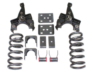 "1988-1998 GMC Sierra 1500 2wd 3/5"" Lowering Kit W/ No Shocks - MaxTrac KS330535-NS"