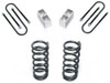 "1982-2004 Chevy S-10 2/3"" Lowering Kit W/ No Shocks - MaxTrac K330123-NS"