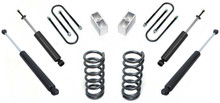 "1982-2004 GMC Sonoma 2/3"" Lowering Kit - MaxTrac K330123"