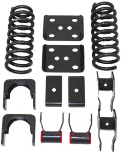 "1988-1998 Chevy Silverado 1500 2wd 3/5"" Lowering Kit W/ No Shocks - MaxTrac K330535-NS"