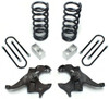"1982-2004 GMC Sonoma V6 3/4"" Lowering Kit - MaxTrac KS330134"
