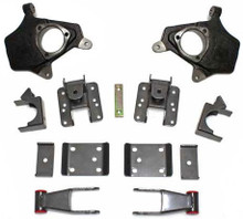 "2007-2013 Chevy Silverado 2wd/4wd 2/4"" Lowering Kit W/ No Shocks - MaxTrac KS331324-NS"