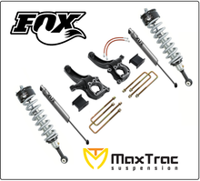 "2015-2017 GMC Canyon 2wd 6.5"" Lift Kit W/ Fox Coil Overs & Shocks - MaxTrac K880463F"