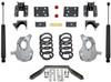 """2016.5-2018 Chevy Silverado 1500 2wd (2pc Drive Shaft) 3/5"""" Lowering Kit - MaxTrac KA331535LB"""