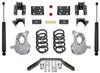 """2016.5-2018 GMC Sierra 1500 2wd (2pc Drive Shaft) 3/5"""" Lowering Kit - MaxTrac KA331535LB"""