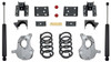 "2016.5-2018 GM 1500 2wd (Extended / Crew Cab) 4/6"" MaxPro Lowering Kit - MaxTrac KA331546-8"