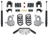 """2016.5-2018 GMC Sierra 1500 2wd (2pc Drive Shaft) 4/6"""" Lowering Kit - MaxTrac KA331546LB"""