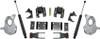 "2016.5-2018 Chevy Silverado 1500 2wd (1pc Drive Shaft) 2/4"" Lowering Kit - MaxTrac KA331524T"