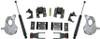 """2016.5-2018 GMC Sierra 1500 2wd (1pc Drive Shaft) 2/4"""" Lowering Kit - MaxTrac KA331524T"""
