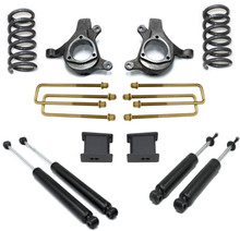 "1999-2006 Chevy Silverado 1500 2wd 6 Cyl 5"" Front 3"" Rear Lift Kit W/ MaxTrac Shocks - MaxTrac K880953-6"