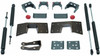 """1999-2006 Chevy Silverado 1500 2wd 5"""" Lowering Kit W/ Front And Rear MaxTrac Shocks - MaxTrac 200950"""