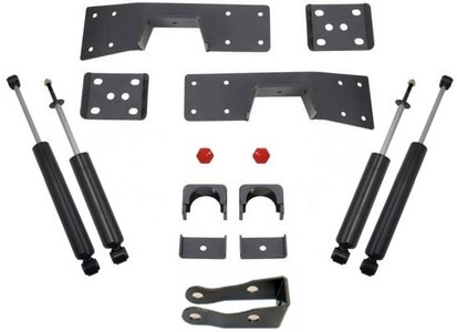 "1999-2006 Chevy Silverado 1500 2wd 6"" Lowering Kit W/ Front And Rear MaxTrac Shocks - MaxTrac 200960"
