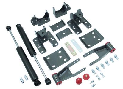 """2007-2013 GMC Sierra 1500 2wd/4wd 3-4"""" Adj. Rear Flip Kit W/ MaxTrac Shocks - MaxTrac 201340"""