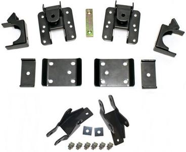 """2014-2018 GMC Sierra 1500 2wd/4wd 5-6"""" Adj. Rear Flip Kit And Shock Extenders - MaxTrac 201560"""