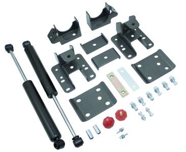 "2007-2013 Chevy Silverado 1500 2wd/4wd 5-6"" Adjustable Rear Flip Kit W/ MaxTrac Shocks - MaxTrac 201360"