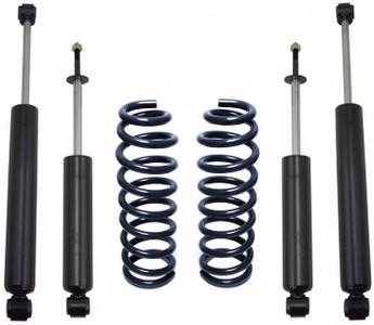 "2009-2018 Dodge RAM 1500 2wd 3"" Rear Lowering Coils W/ Front And Rear MaxTrac Shocks - MaxTrac 202930"
