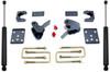 """2015-2021 Ford F-150 2wd/4wd 4"""" Flip Kit W/ Hangers And Rear MaxTrac Shocks - MaxTrac 203240"""