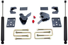 "2015-2021 Ford F-150 2wd/4wd 4"" Flip Kit W/ Hangers And Rear MaxTrac Shocks - MaxTrac 203240"