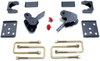 """2015-2021 Ford F-150 2wd/4wd 4"""" Rear Flip Kit With Hangers - MaxTrac 303240"""