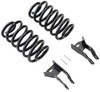 """2007-2014 Chevy Suburban 2wd/4wd 3"""" Rear Lowering Kit - MaxTrac 201230"""