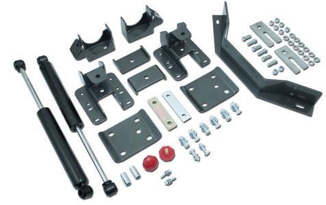 "2014-2018 Chevy Silverado 1500 (Long Wheel Base) 5-6"" Adj. Rear Flip Kit W/ Carrier Bearing And MaxTrac Shocks - MaxTrac 201360LB"