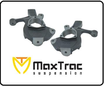 2014-2016 GMC Sierra 1500 4WD W/ Cast Steel Suspension Steering Knuckles - MaxTrac 941370-1